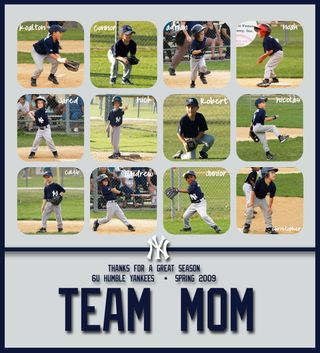 Team Mom - Yankees