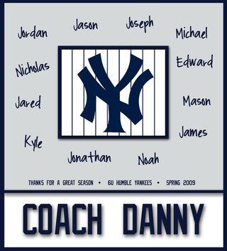 Coach Yankees Sig