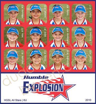 Spring 6U Explosion Team WM