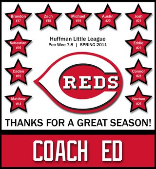 Reds HLL Pee Wee Coach