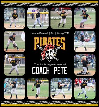 Pirates Coach Spring 2011