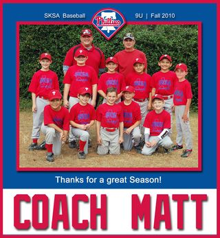 Phillies Coach Gift