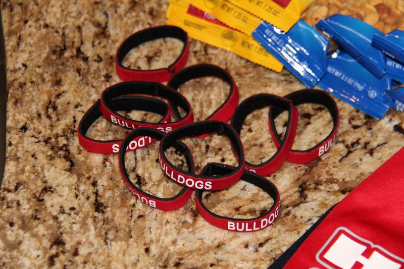 Bulldogs Wristbands